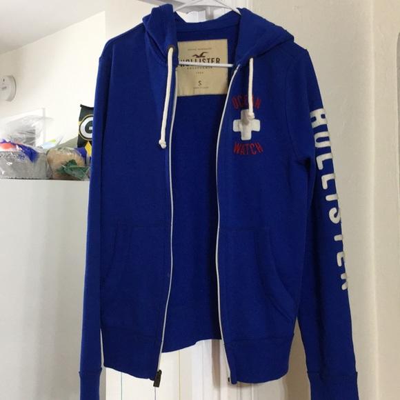 Blue Ocean Full Zipper Army Sweater